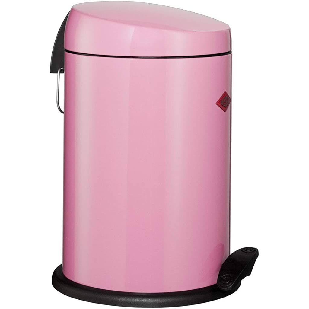 Wesco Capboy 121 212-26 Pink Pedal Bin 14 Litre