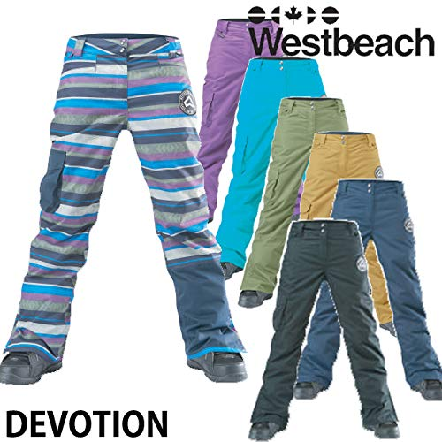18-19 WESTBEACH/ウエストビーチ DEVOTION pant レディース スノーウェア パンツ スノーボードウェア 2019 AMETHYST X-Small