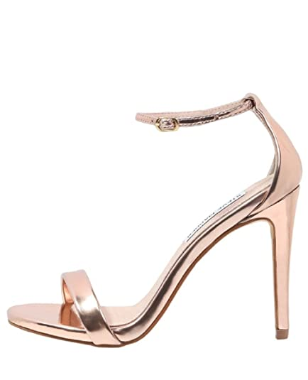 5ba29ca85963 Steve Madden Women s Stecy-s Heeled Sandal  Amazon.co.uk  Shoes   Bags