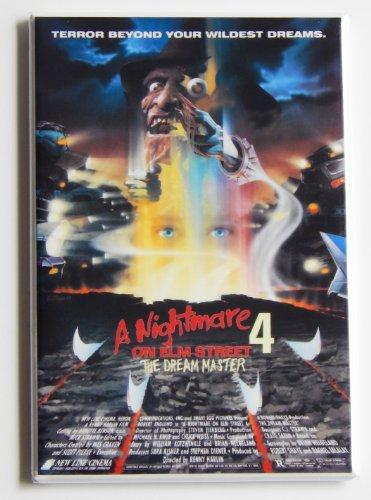 Nightmare on Elm Street 4 Movie Poster Fridge Magnet