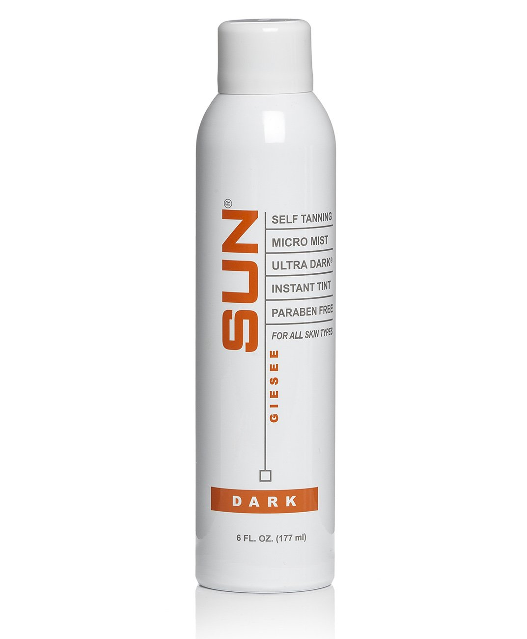 Spray On Tan Airbrush Tanning Micro Mist Spray 6 fl oz Natural Sunless Airbrush, Body and Face for Bronzing and Golden Tan - Very Dark Sunless Bronzer Flawless Fake Tanning Airbrush | Sunless Tan