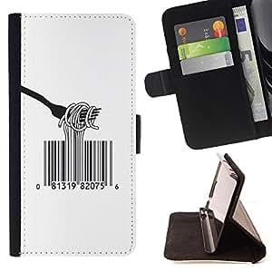 Jordan Colourful Shop - FOR Samsung Galaxy S6 EDGE - It just means you value - Leather Case Absorci¨®n cubierta de la caja de alto impacto
