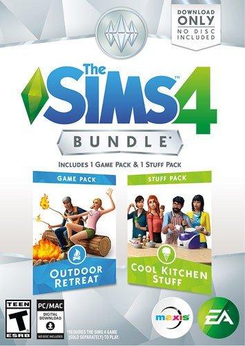 The Sims 4 Outdoor Retreat & Cool Kitchen Bundle Windows|Mac