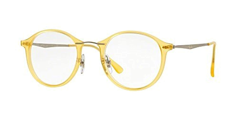 61d7f9a841f Amazon.com  Ray-Ban Vista RX 7073 5589 Eyeglasses Matte Yellow  Shoes