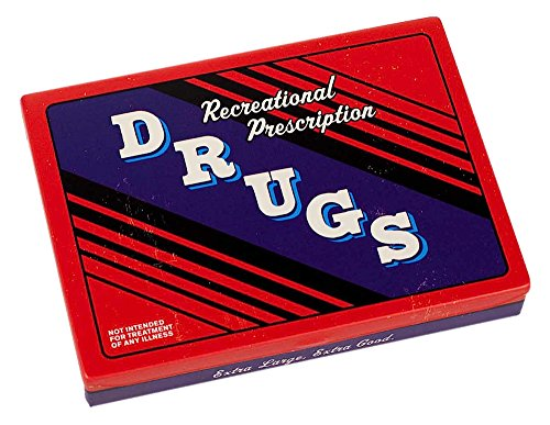 Blue Q Recreational Drugs Tin Pocket - Tin Gum Box