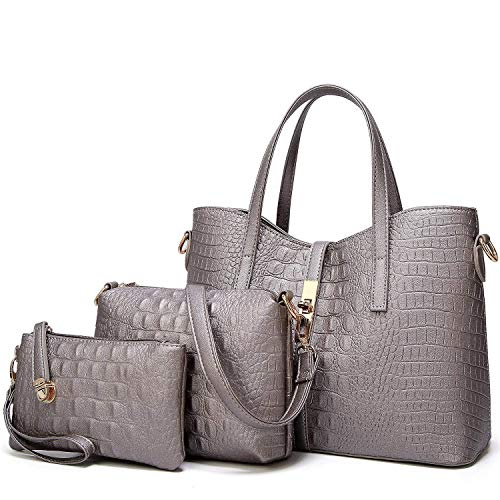 YNIQUE Satchel Purses and Handbags for Women Shoulder Tote Bags Wallets ()