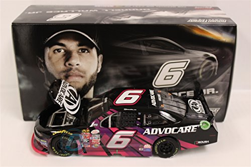 """Lionel Racing Darrell """"Bubba"""" Wallace Jr #6 Advocare 2015 Xfinity Ford Mustang Diecast Car (1:24 Scale)"""