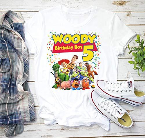 Toy Story Birthday Shirts for Family, Toys Story Shirts, Custom Birthday Boy Shirt, Personalized Toy Story Shirt, Matching Toy short 23