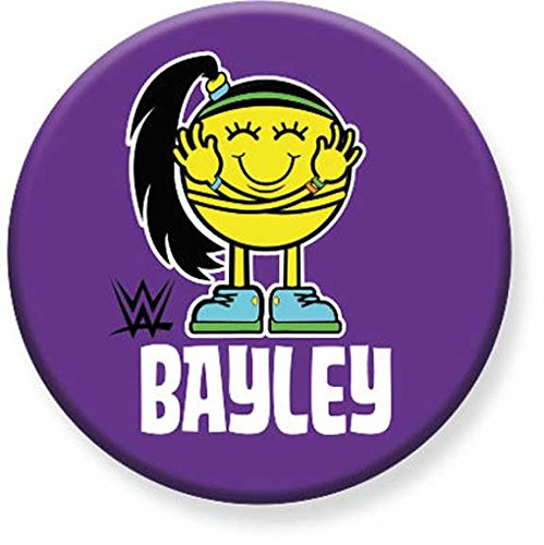 WWE - Bayley - Button - Pinback Style - Hugger - 1.25 Inch Size - Licensed ()