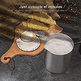 HadinEEon Detachable Milk Frother Variable