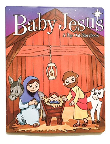 Baby Jesus - A Pop Out Storybook - Interactive Pop Out Bible Story - Pop Up Bible Story