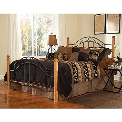 Hillsdale Furniture 164HFQR Winsloh Headboard with Rails, Full/Queen, ()