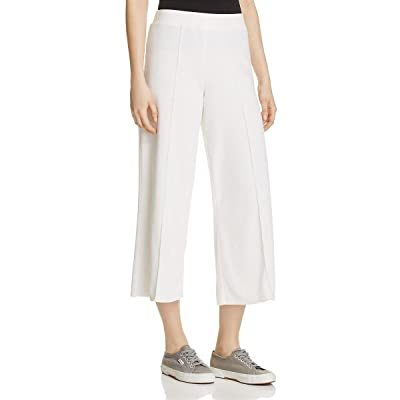 ATM Womens Terry Cloth Wide Leg Sweat Pants