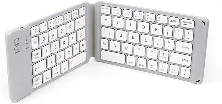 Teclado Plegable Bluetooth Wireless Keyboard 2 Plegable ...