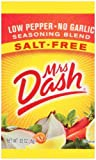 Mrs Dash Low Pepper No Garlic Seasoning Packet, 0.02 Ounce -- 500 per case.