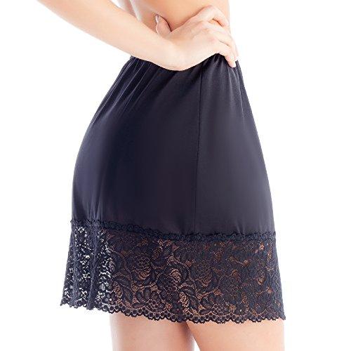 Lace Hem Skirt Slip 1017