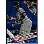 Baseball MLB 2017 Topps Chrome Sapphire Edition #438 Chris Carter /250 Yankees.