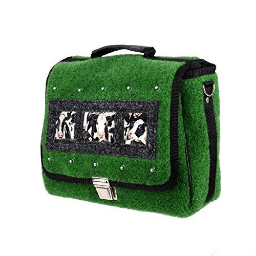Flio Design Laptop Bag Cowgirl grün JalLZznH