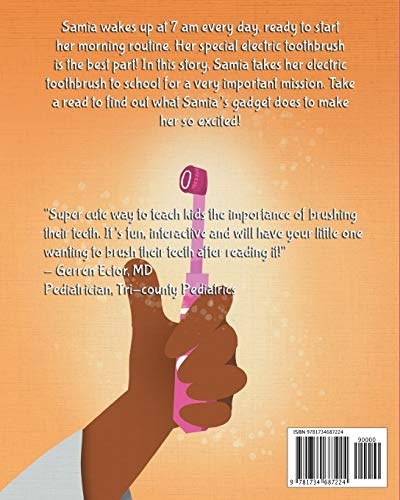 Samia and Her Electric Toothbrush: Make brushing your child's teeth more fun and educational with this Dentist approved book. (Samia Ali Books)