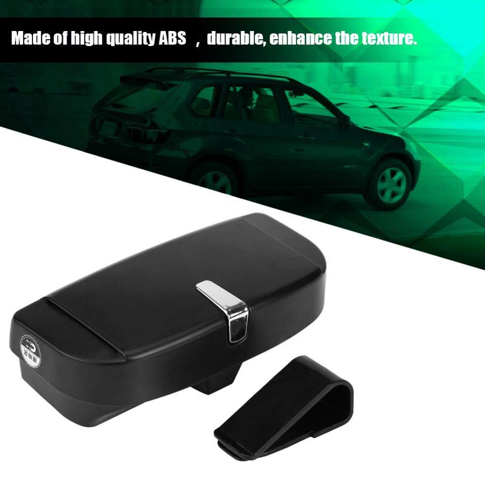 Car Auto Versatile Occhiali da sole Storage Holder Clip Case Box Organizer universale Beige Car Glasses Box