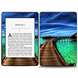 Decal Moments Vinyl Skin Decal Sticker Protective for Kindle Paperwhite eBook Reader Wrap Cover Skin Beach