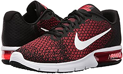 Laos Distante cable  Amazon.com: Nike Air Max Sequent 2 Negro/Blanco/equipo rojo/Universidad  Rojo Zapatillas De Running para Hombre: Shoes
