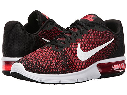 a9674f70da Nike Air Max Sequent 2 Black/White/Team Red/University Red Men's Running  Shoes: Amazon.ca: Shoes & Handbags