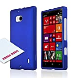 Lumia Icon Case, [Blue] Slim Grip Rubberized Hard Plastic Case for Nokia Lumia Icon (2014)