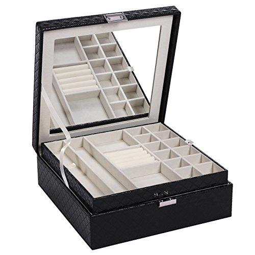 BEWISHOME Jewelry Box Organize