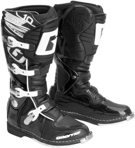 Gaerne SG10 Adult Off-Road Motorcycle Boots, Black, (Sg10 Boots)