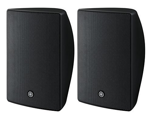 (Yamaha VXS5 VXS Series 5.25 Inch Surface Mount Speaker - Black Pair)