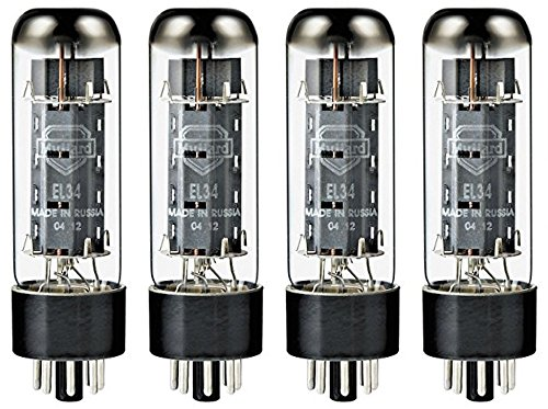 - Mullard EL34 Power Vacuum Tube, Platinum Matched Quad