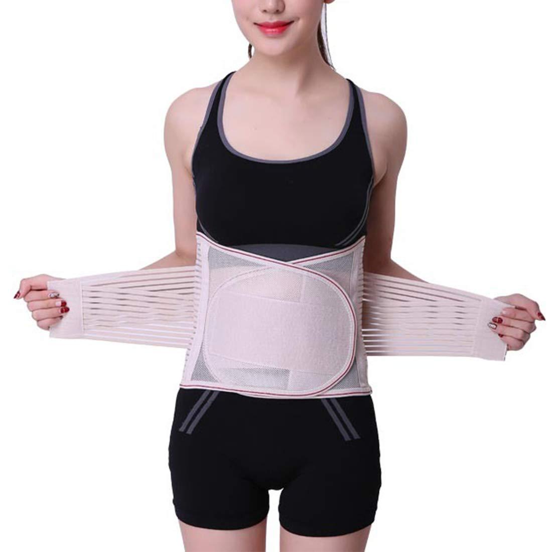 Dhrfyktu Cinturones de Cintura Respirables de Verano Cinturones de Cintura Deportiva de Soporte Fijo Cinturones de Cintura Transpirables cómodos