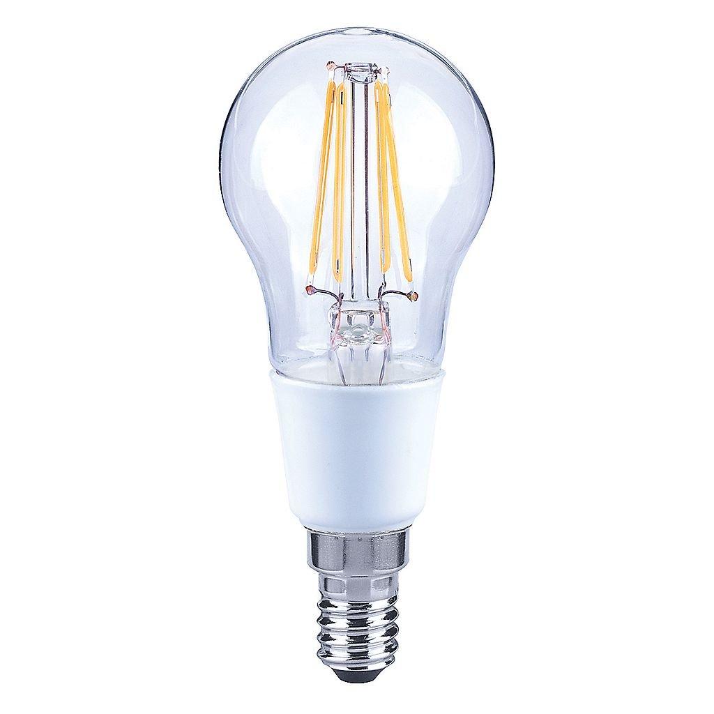 LAP SES Mini Globe LED Virtual Filament Light Bulb 470lm 5W