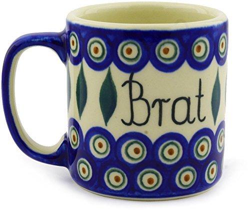 Polish Pottery Mug 12 oz