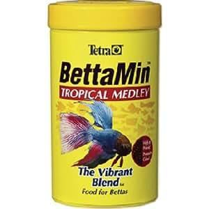 Tetra 16838 bettamin flakes for Beta fish food