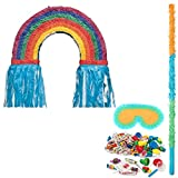BirthdayExpress Rainbow Party Supplies Pinata Kit