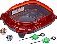 BEYBLADE Burst Turbo Slingshock Rail Rush Battle Set Game -- Complete Set Burst Beystadium, Battling Tops, and