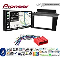 Volunteer Audio Pioneer AVIC-W8400NEX Double Din Radio Install Kit with Navigation, Apple CarPlay and Android Auto Fits 2004-2009 Mazda 3
