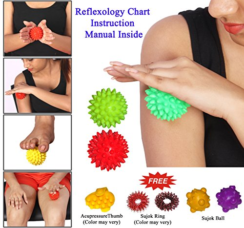 ACS Energy Ball SHARP Pointed for Hand / Foot Acupressure...