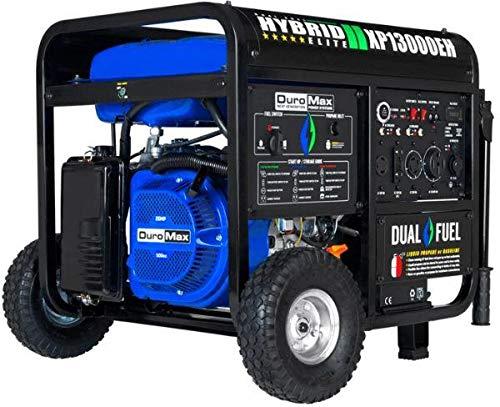 Duromax XP13000EH,13000 Watt Dual Fuel Electric Start, Portable Generator (Best Whole House Portable Generator)