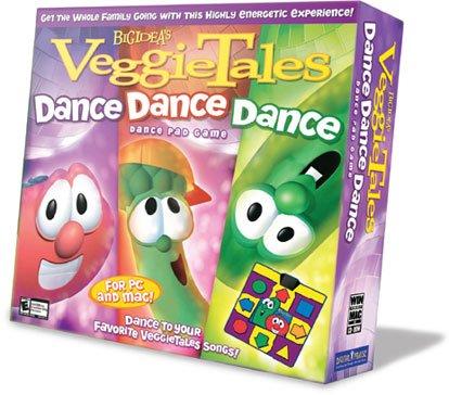 Dance pad tale veggie