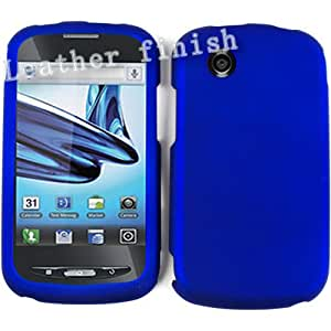 Unlimited Cellular Snap-On Case for ZTE Avail Z990 (Honey Blue, Leather Finish)