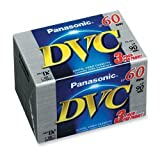 Panasonic AY-DVM60EJ3 MiniDV Tapes (60 Minute, 3 Pack)