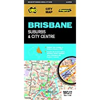 Brisbane Suburbs & City Centre Map 418 10th ed
