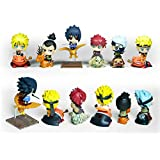 Cute ! Petit Chara Land Naruto Shippuden 5cm PVC Figure Set of 6pcs NIB