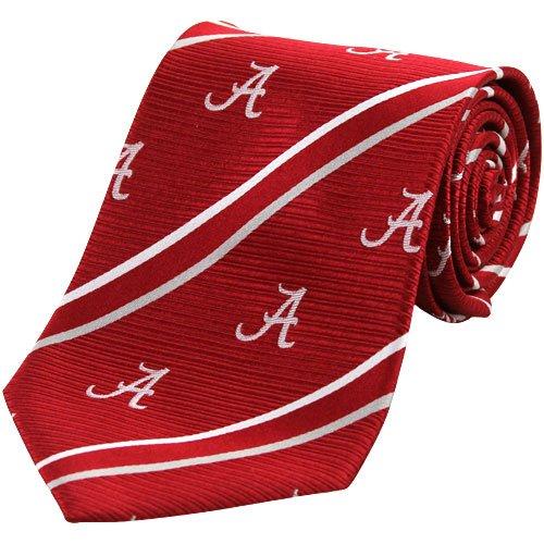 Alabama Cambridge Woven Silk Necktie