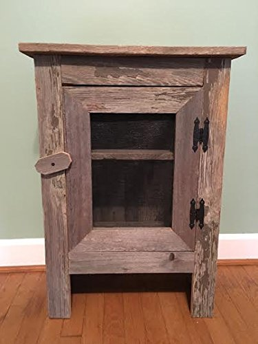 Superbe Old Barn Wood Cabinet. This Simple, Yet Striking Piece Of Old Barn Wood  Furniture