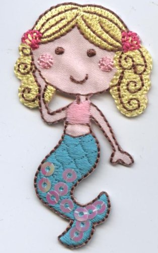 Under Mermaid Embroidered Applique Patch product image