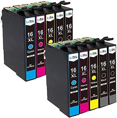 LxTek Compatible para Epson 16 16XL Cartuchos de Tinta para Epson ...